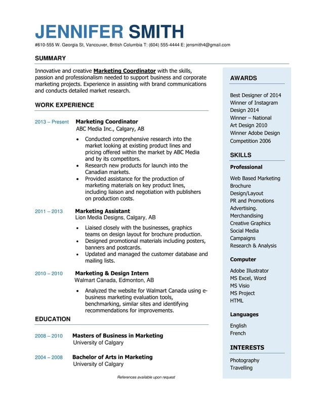 resume writing calgary 28 images junior calgary resume