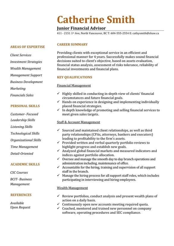 resume writing services calgary