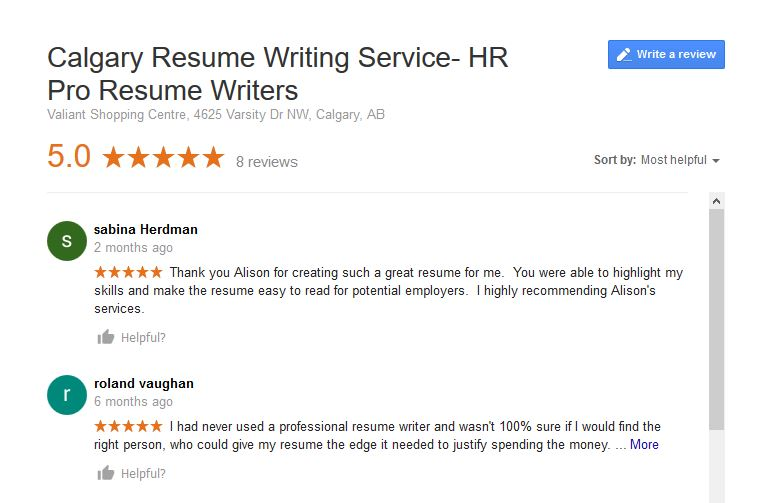 calgary-resume-google-review-image